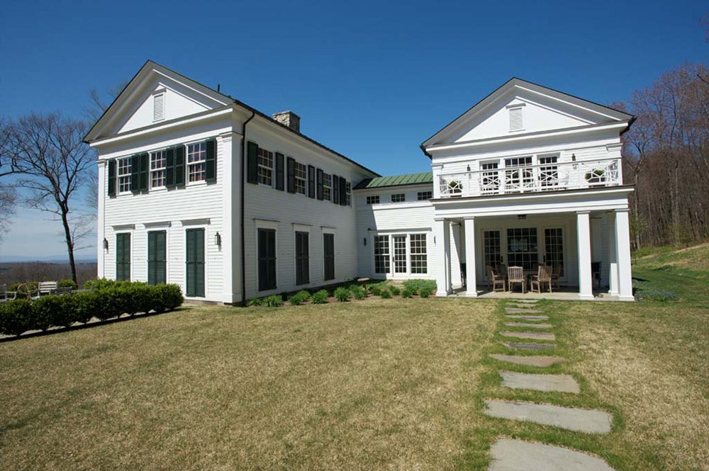 greek revival house p t nilsen construction corp. Black Bedroom Furniture Sets. Home Design Ideas